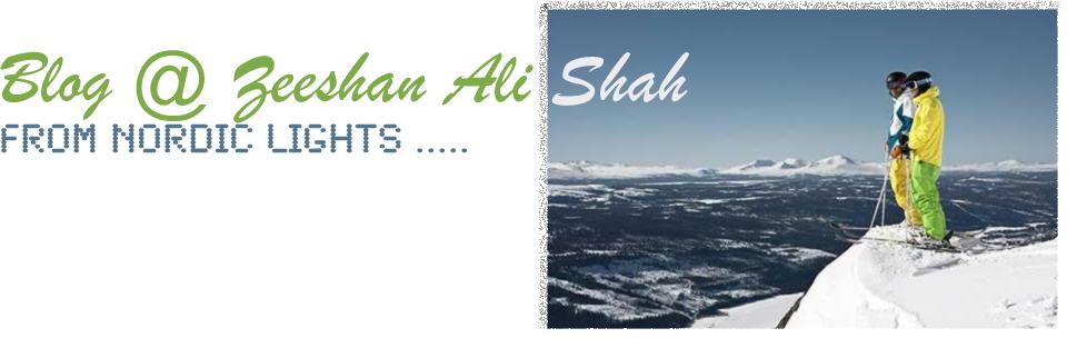 Zeeshan Ali Shah's Blog